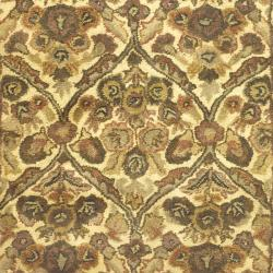 Safavieh Handmade Treasured Gold Wool Rug (4' x 6')