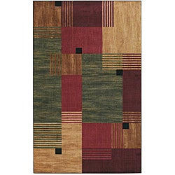 Mohawk Home Alliance Multi Blocks Rug (5' x 8')