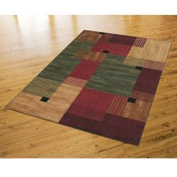 Mohawk Home Alliance Multi-blocks Rug (8' x 10')