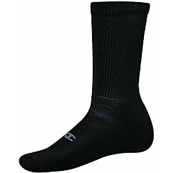 Champion Men's Performance Black Crew Socks (Pack of 6)
