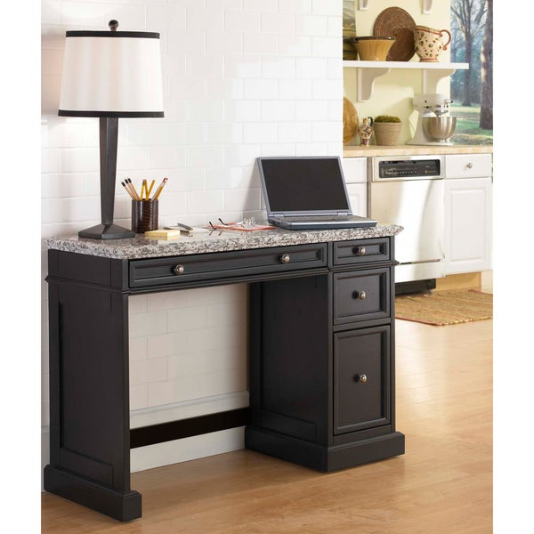 Home Styles Traditions Black Utility Desk