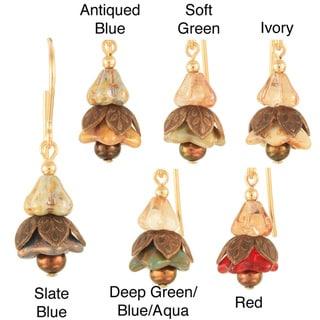 'Little Fairy Lanterns' 14k Gold Fill Earrings (3-4 mm)