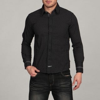 English Laundry by Scott Weiland Men's Black Woven Shirt