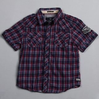Buffalo by David Bitton Big Boy's (8-20) Amada Combo Plaid Button-front Shirt