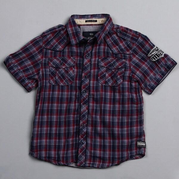 Buffalo by David Bitton Big Boy's (8-20) Amada Combo Plaid Button-front Shirt