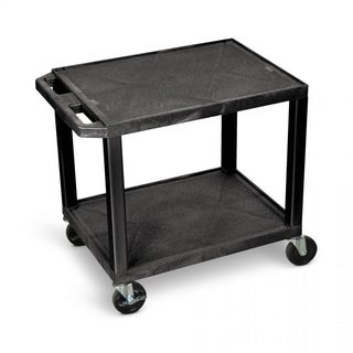 H.Wilson 26-inch Black Plastic Multi-purpose Cart