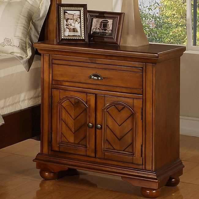 Picket House Napa Chestnut Nightstand