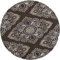 Handmade Chatham Mystic Brown New Zealand Wool Rug (7' Round)