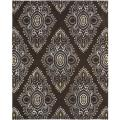 Handmade Chatham Mystic Brown New Zealand Wool Rug (8' x 10')