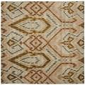 Handmade Chatham Journey Brown New Zealand Wool Rug (7' Square)