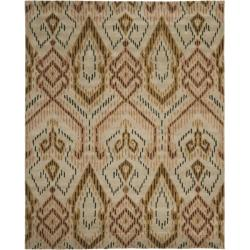 Safavieh Handmade Chatham Journey Brown New Zealand Wool Rug (8' x 10')