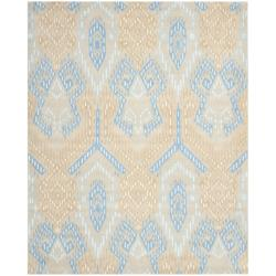 Safavieh Handmade Chatham Journey Beige New Zealand Wool Rug (8' x 10')