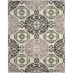 Safavieh Handmade Chatham Treasures Ivory New Zealand Wool Rug (8' x 10')
