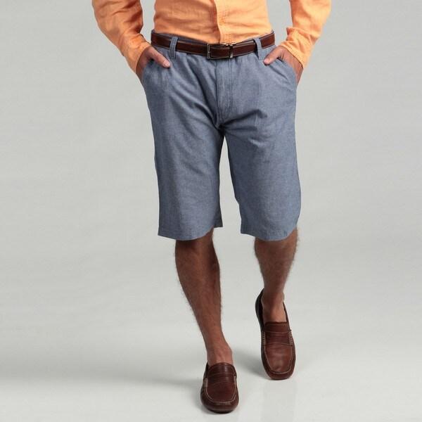 The Fresh Brand Men's Blue Classic Shorts