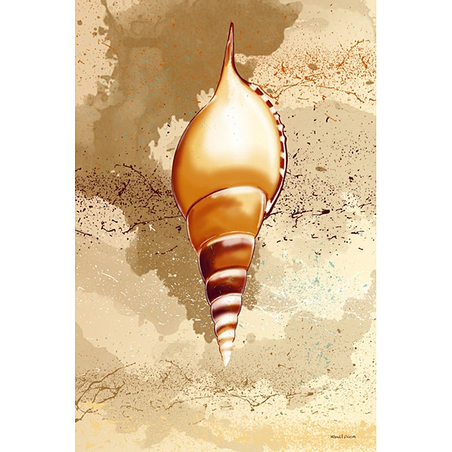 Maxwell Dickson 'Seashell' Wall Decor Canvas Art