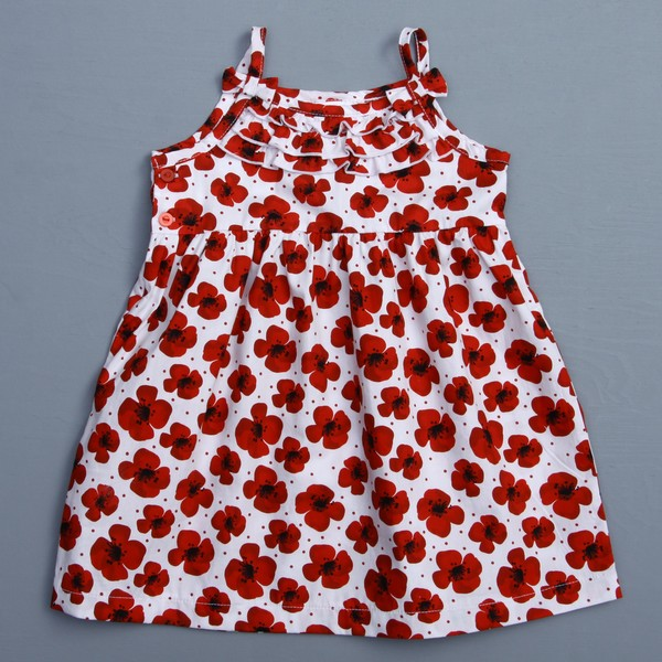 Absorba Toddler Girl's Floral Woven Dress