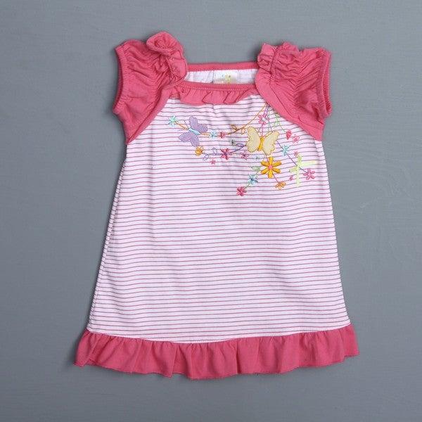 Absorba Toddler Girl's Striped Knit Dress