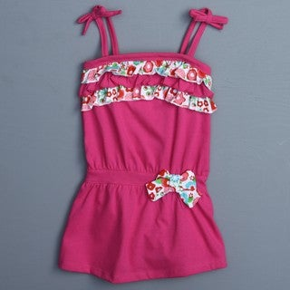 Absorba Toddler Girl's Fuchsia 2-piece Dress Set