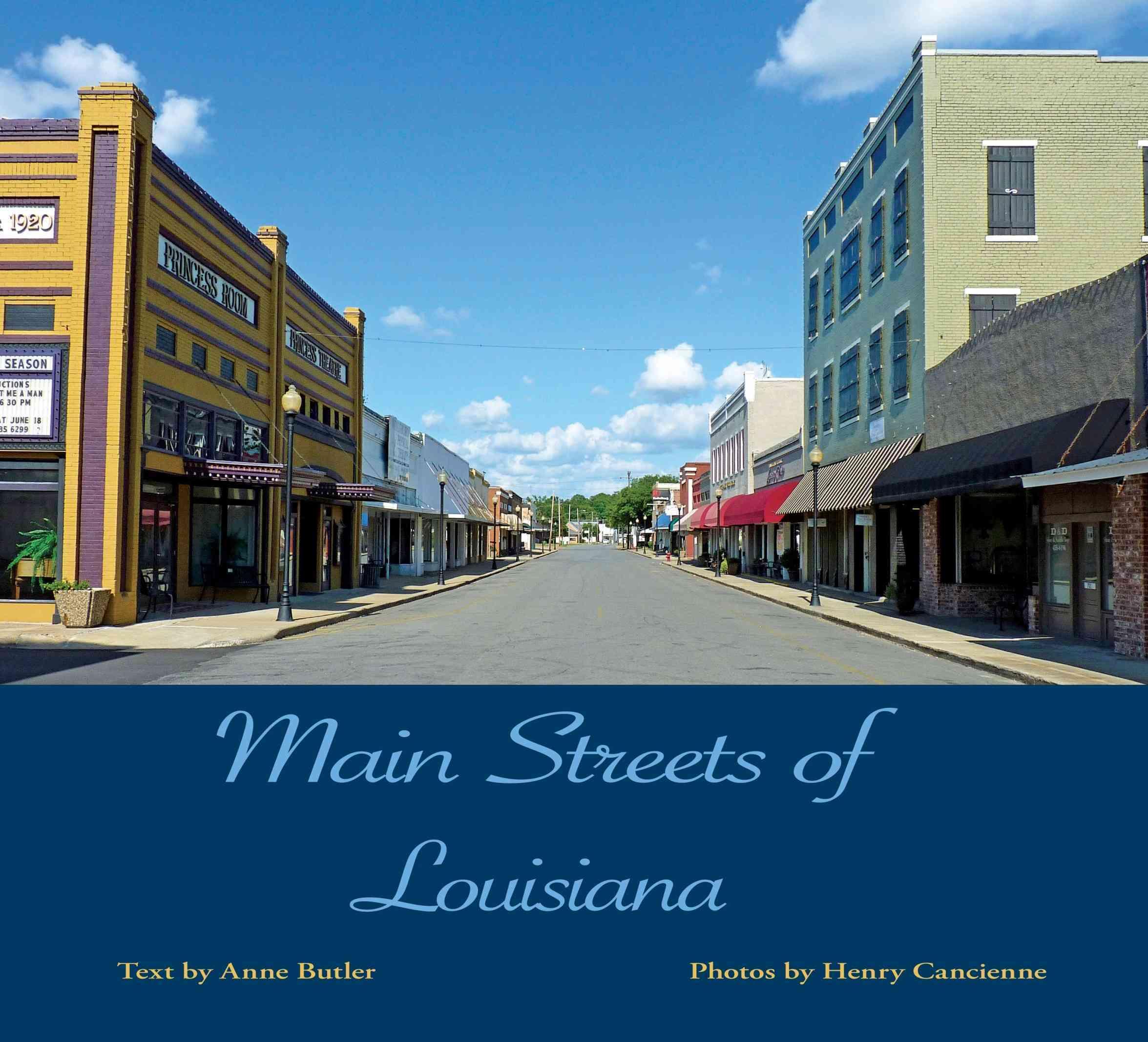 Main Streets of Louisiana (Hardcover)