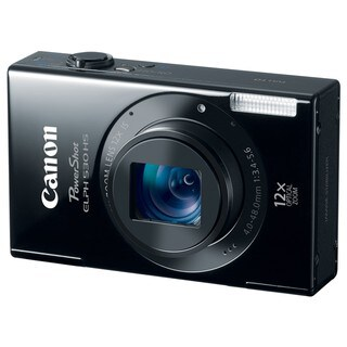 Canon PowerShot ELPH 530 HS 10MP Black Digital Camera