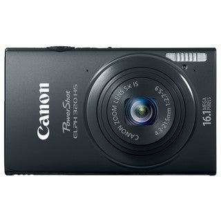 Canon PowerShot ELPH 320HS 16.1MP Black Digital Camera