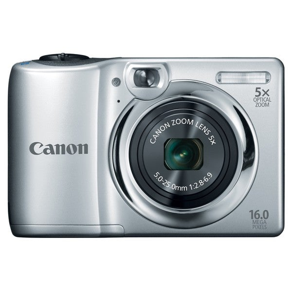 Canon PowerShot A1300 16MP Silver Digital Camera