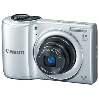 Canon PowerShot A810 16MP Silver Digital Camera
