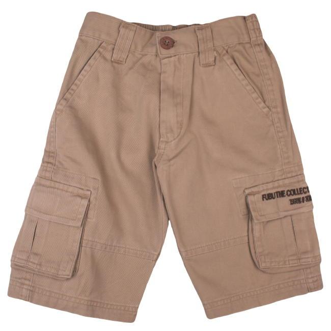 Fubu Toddler Boy's Dark Khaki Cargo Short