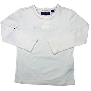 Tommy Hilfiger Girls Embellished White Long-sleeve Shirt