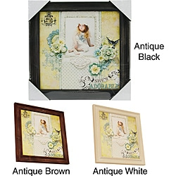 Prima Flowers Wood Frame (12 x 12)