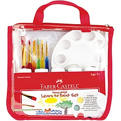 Creativity for Kids Faber-Castell Young Artist Learn to Paint Set