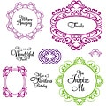 JustRite Stampers You Inspire Me 11-piece Cling Stamp Set (1 Sheet)