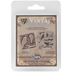 Sizzix DecoEmboss 'Woodland Birds' Embossing Folder by Vintaj