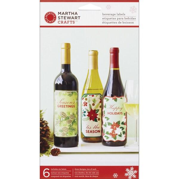 Martha Stewart Wine Woodland Labels (Pack of 6)