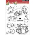 Penny Black Winter Wonderland 8-piece Clear Acrylic Stamp Set (1 Sheet)