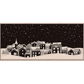 Hero Arts 'Winter Town' Mounted Rubber Stamp