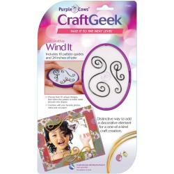 Purple Crows CraftGeek 'Wind It' Tool Kit