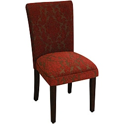 HomePop Red Floral Parson Chairs (Set of 2)