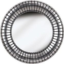 Coeus Silver Plate Wall Mirror