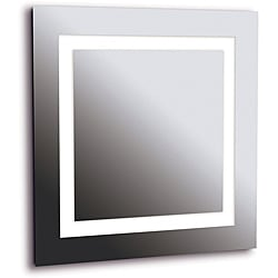 Horus 4-light LG Silver Vanity Mirror