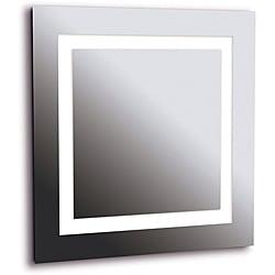 Horus 4-light LG Silver Vanity Mirror