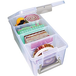 Artbin Super Semi-Satchel Plastic Storage Container