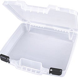 ArtBin Quickview Translucent Plastic Carry Case with Sliding Latches