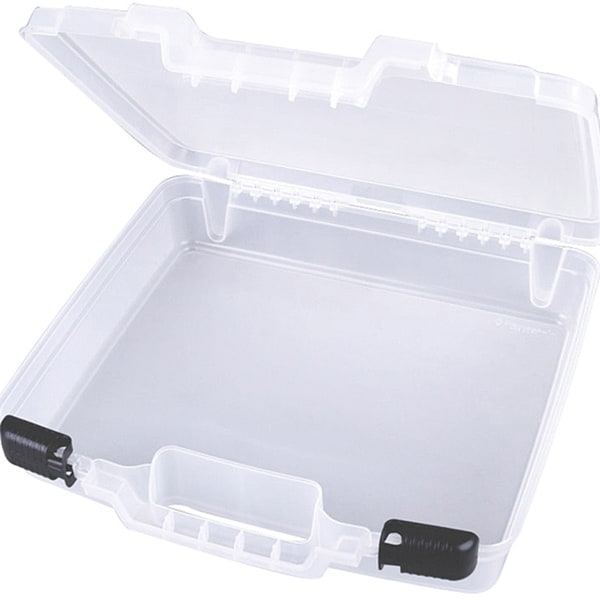 Artbin Quickview Translucent Plastic Carry Case With