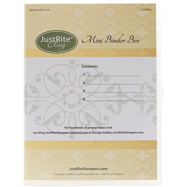 JustRite Stampers 4-set Stamp Binder Box