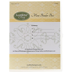 JustRite Stampers 4-set Stamp Binder Box
