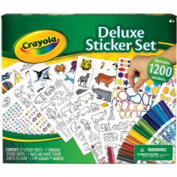 Crayola Deluxe Sticker Set