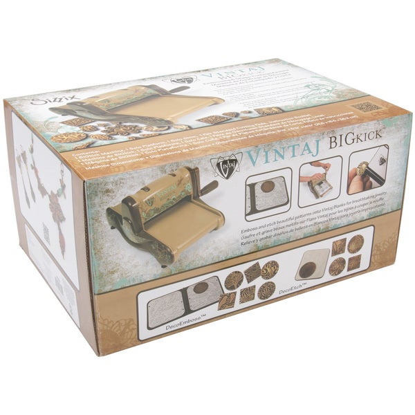 Sizzix Vintaj Special Edition BIGkick Die Cut Embossing Machine
