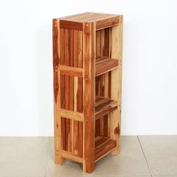 Teak Wood Shelf Tower (Thailand)
