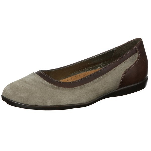 Hush Puppies Women's 'Adalia' Taupe Leather Flats